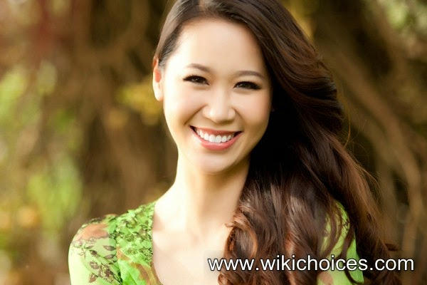 Radiant smile of Duong Thuy Linh in the morning light