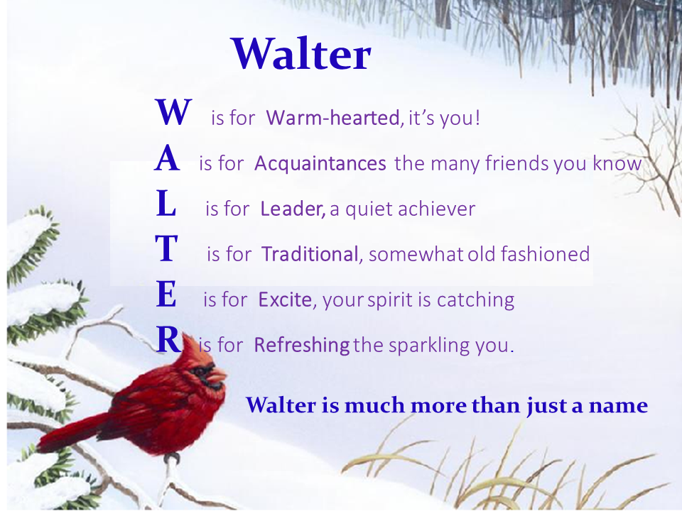 poetry and younger walter Though best known now as the author of the waverley novels, sir walter scott's first love and earliest success was as a poet read more about this poet.