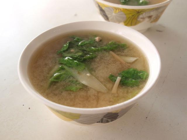 台南西港蓮華素食(菜粽) 味增湯