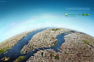 propaganda da petrobrás Nova Iorque