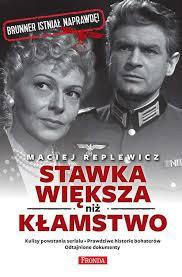 """Maciej Replewicz - """"Stawka większa niż kłamstwo"""""""