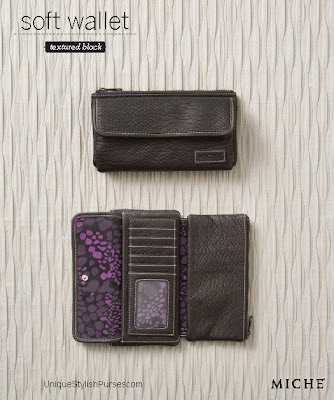 Ultra Soft Black Pebble Wallet