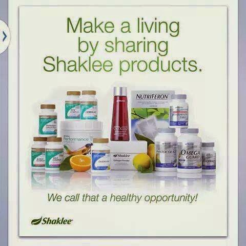 SHARING SHAKLEE PRODUK
