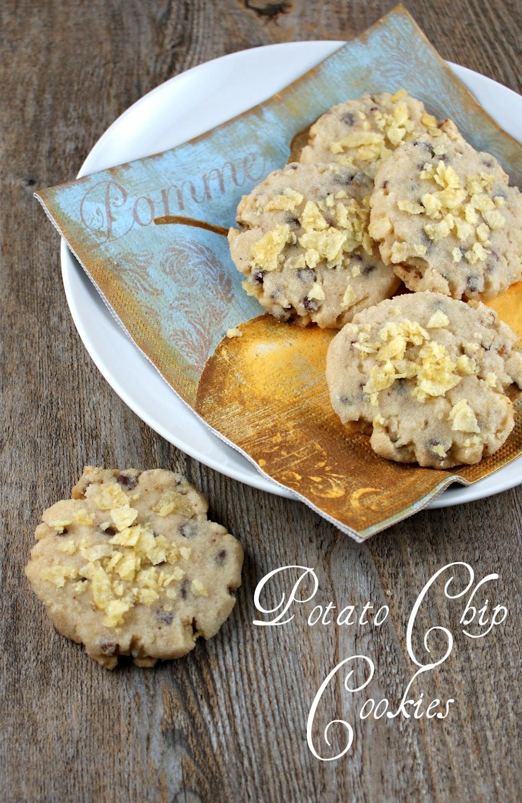 Authentic Suburban Gourmet: Potato Chip Cookies