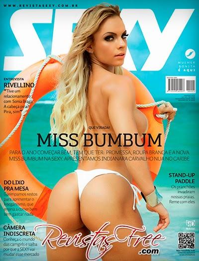 Revista Sexy - Indianara Carvalho - Janeiro 2015