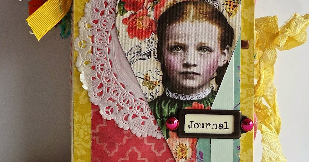creative addiction to paper  vintage theme junk journal