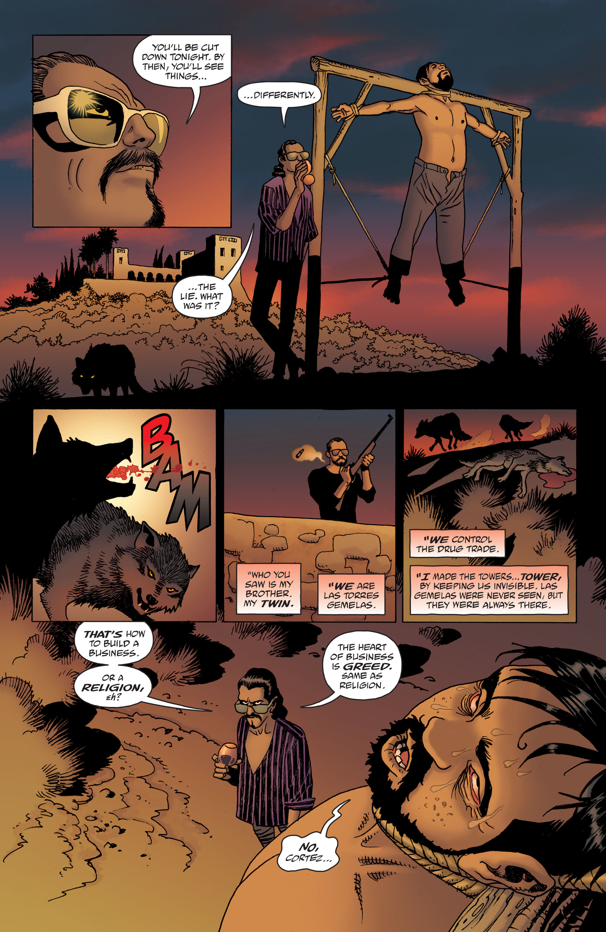 100 Bullets: Brother Lono Full Page 164