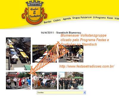 Um pouco de História: Blumenauer Volkstanzgruppe