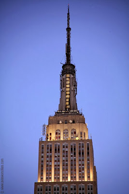 Spire of the Empire State Building
