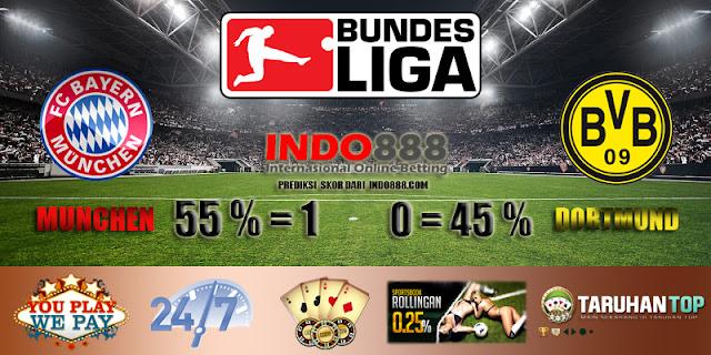 Prediksi Bayern Munchen vs Borussia Dortmund - Indo888News