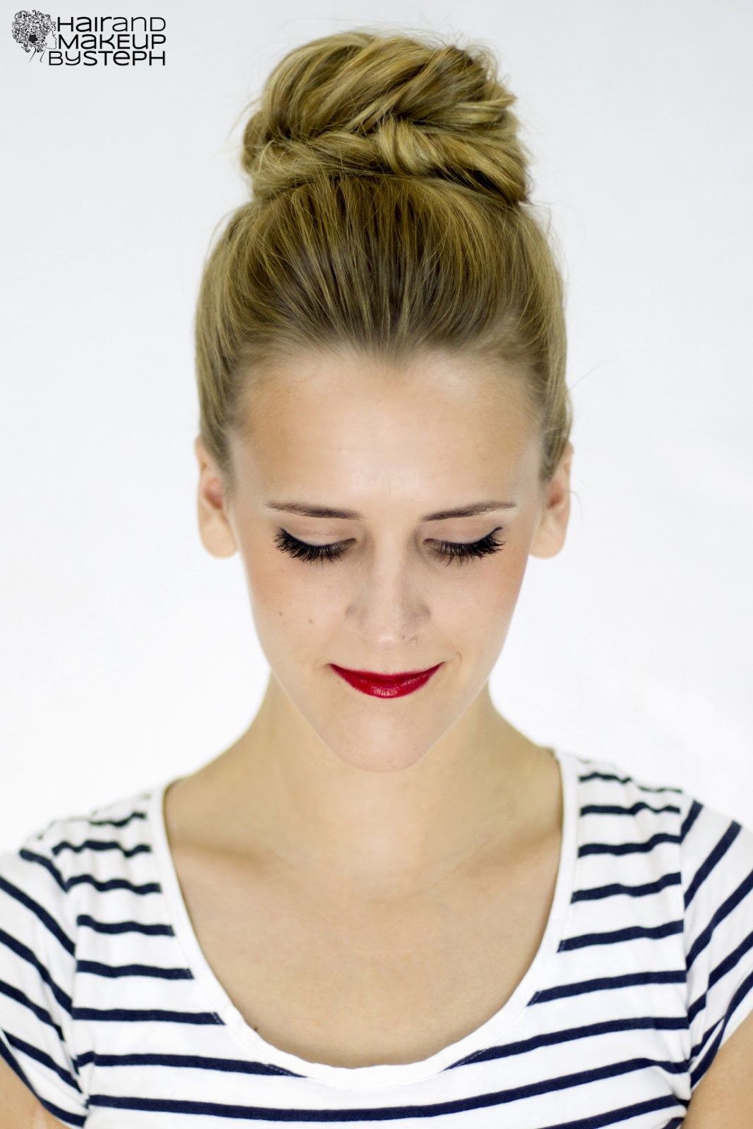 Beautiful Bun Hairstyles High Pictures To Pin On Pinterest