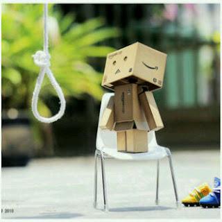 Danboo Mau bunuh diri
