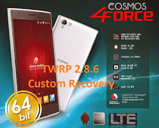 [RECOVERY] TWRP v2.8.6.1 for Cherry Mobile Cosmos Force