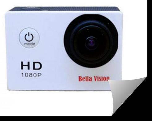 Bella Vision SJ4000 Action Camera 1080P
