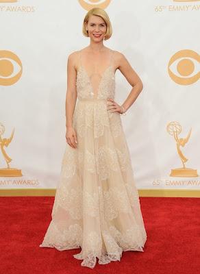 Claire Danes, de Armani Privé Emmy 2013