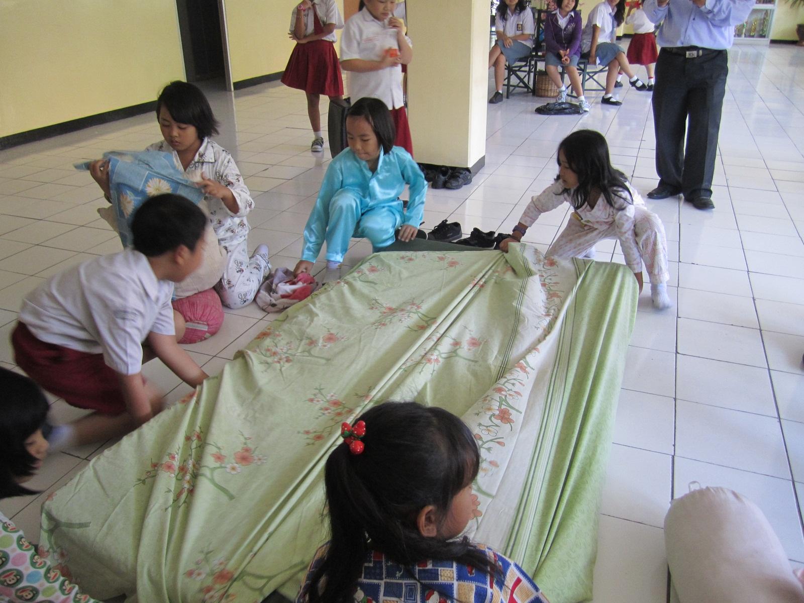 National Plus @ Mutiara Bunda School: Bed Competition