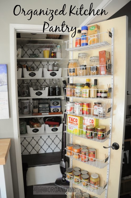 A Pantry Organized And All Prettied Up Part 1