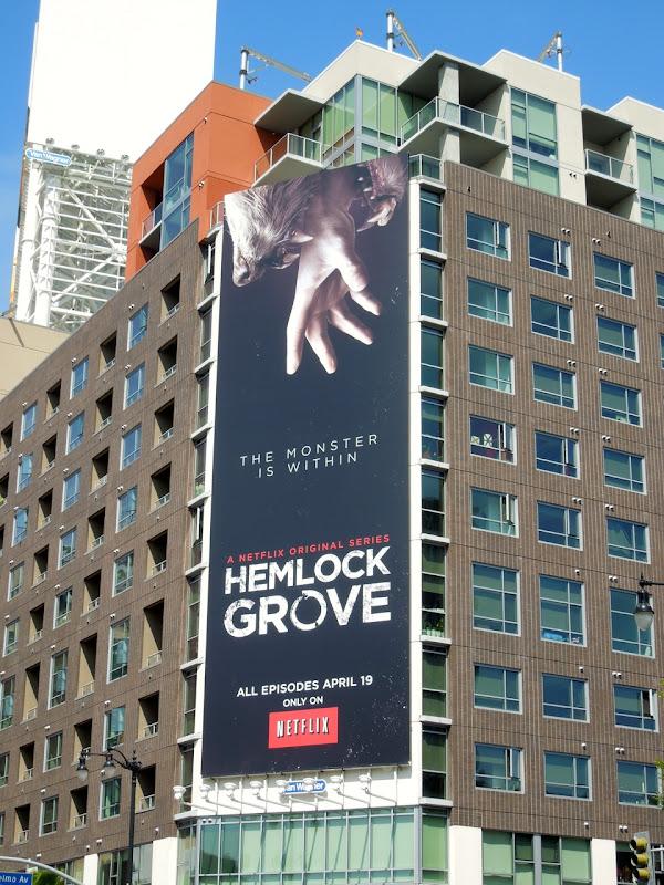 Hemlock Grove Netflix billboard