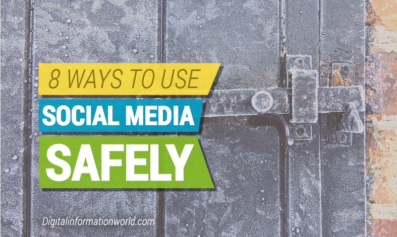 How to protect yourself and your data when using #socialmedia - #infographic