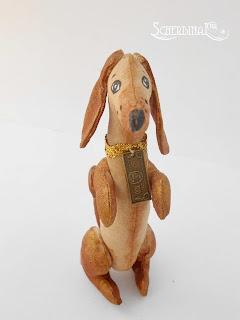 мастер-класс мягкая игрушка собака