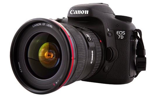 Daftar Harga dan Spesifikasi Kamera Canon EOS 7D Murah Terbaru