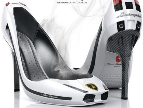 Tacones o Zapatos Lamborghini para mujeres