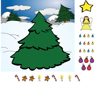 http://www.northpole.com/Clubhouse/Games/Tree/
