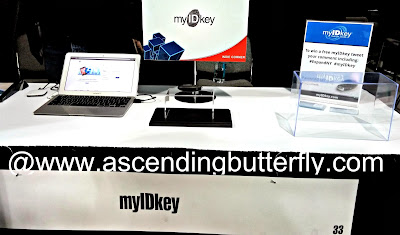 myIDkey Booth Engadget ExpandNY 2013 Technology Tradeshow