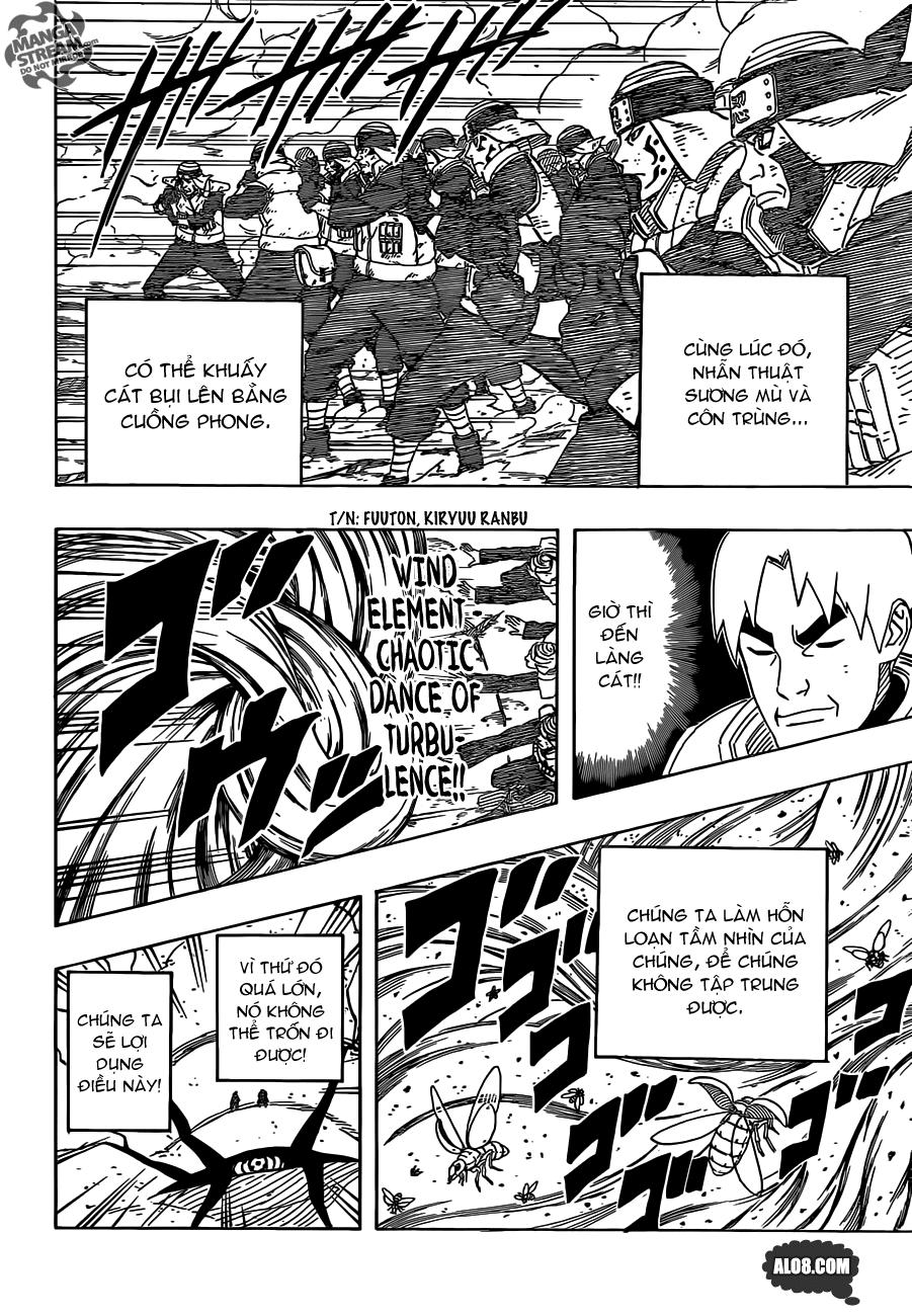 Naruto chap 612 Trang 8 - Mangak.info