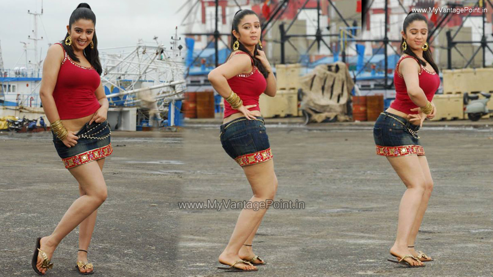 Charmi Kaur in skirt, Charmi Kaur in red top, Charmi Kaur in denim skirt, Charmi Kaur thunder thighs, Charmi Kaur sexy legs, Charmi Kaur hot legs, Charmi Kaur sandals, Charmi Kaur feet