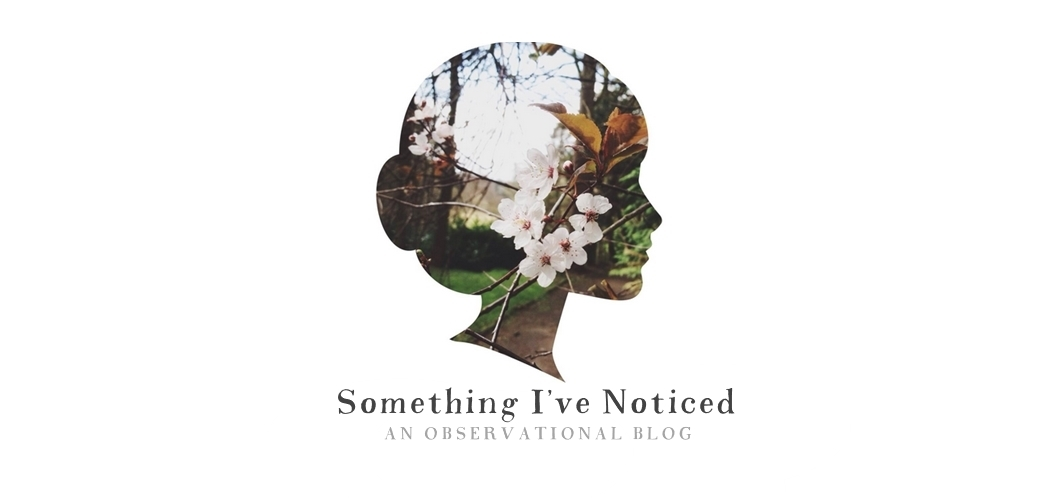 something I've noticed // observational blog