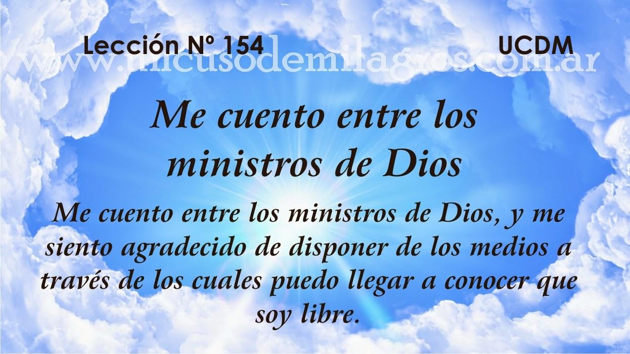 Leccion 154, Un Curso de Milagros