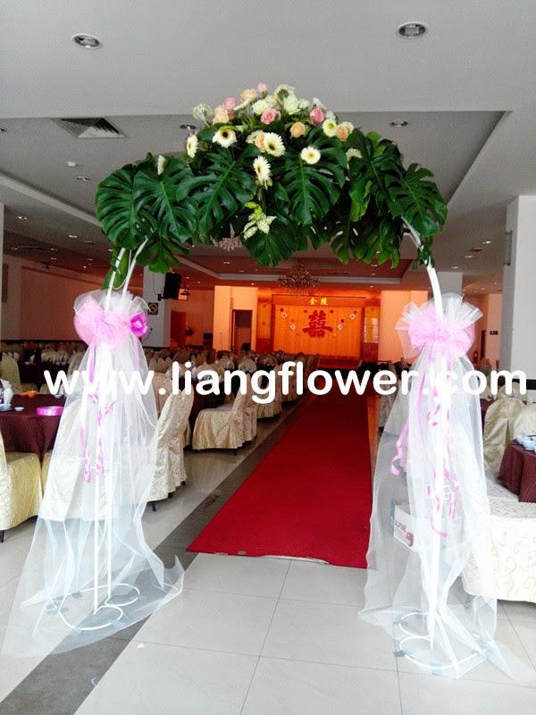 Liang flower collection home deco florist in kampar perak wedding flowers arch junglespirit Images