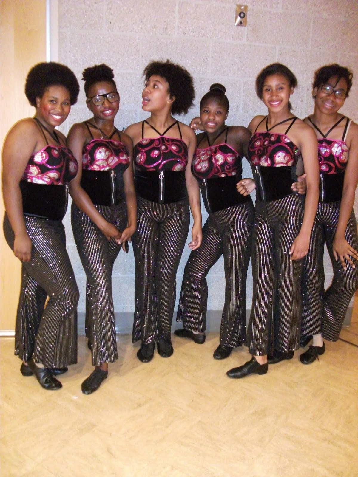 Dancers Backstage in COOL,