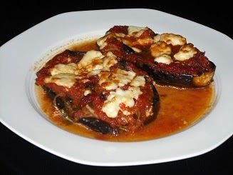 Authentic greek recipes greek eggplants with tomato sauce and feta greek eggplant feta recipe forumfinder