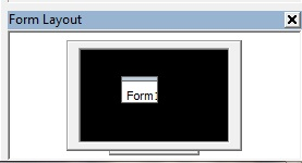 Choose where your form window will appear on the screen