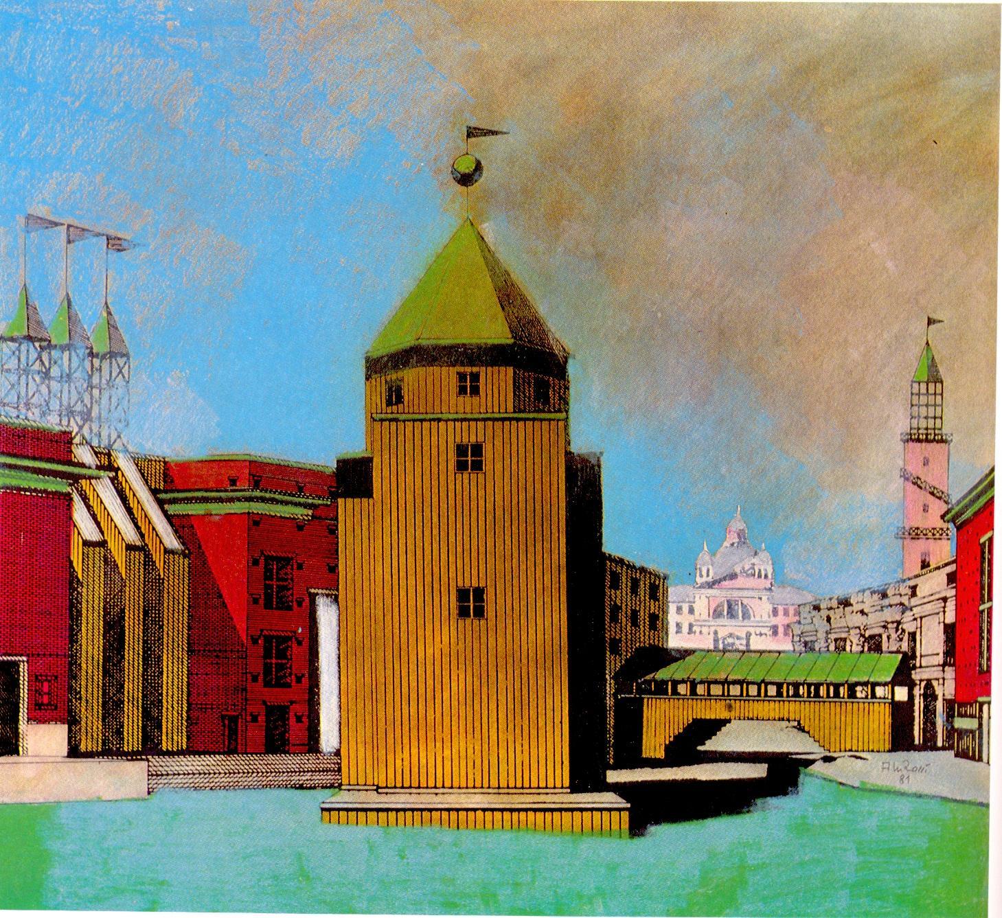 Artchist teatro del mondo en la bienal de venecia 1979 for Aldo rossi il teatro del mondo