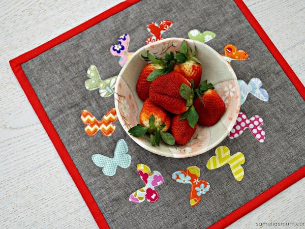 Butterfly Snack Mat {Tutorial}