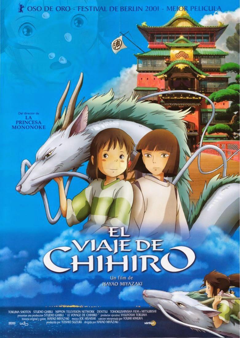 Portada el Viaje de Chihiro