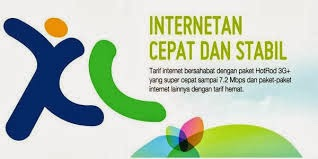 Paket Internet XL Android,BB dan Modem