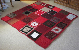 Red Brick Afghan
