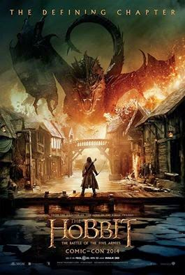 Comic-Con 2014: Here's the Poster for The Hobbit: The Battle of the Five Armies!