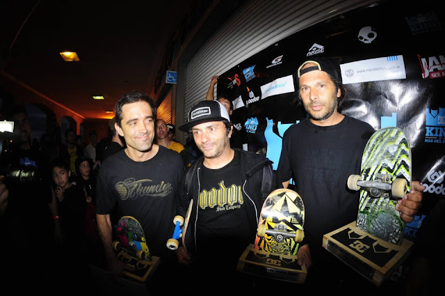 King of Mar Del Plata Skateboard contest