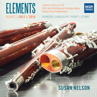 CD REVIEW: J. Brandon, D.A. Ciancaglini, D. Farney, & G. Steinke - ELEMENTS (MSR Classics MS 1477)