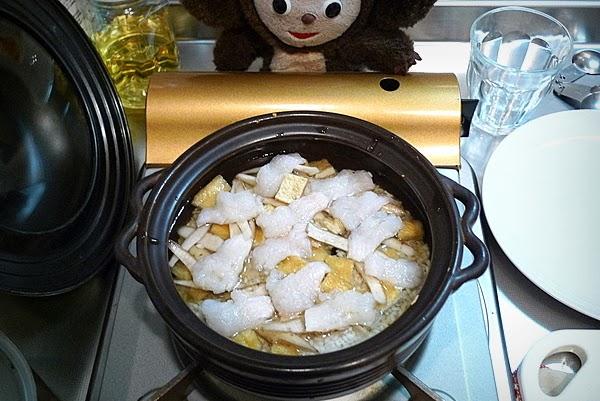 ハモの炊き込みご飯の作り方