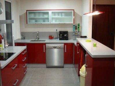Cocinas En Rojo Cocinas Modernas