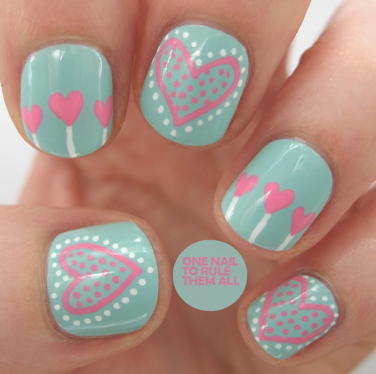 Girly Nail Art Designs: Cute Nail Art Ideas