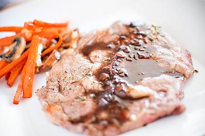 Herbed Ribeye Steaks