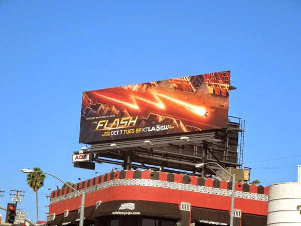 Flash series launch The CW billboard