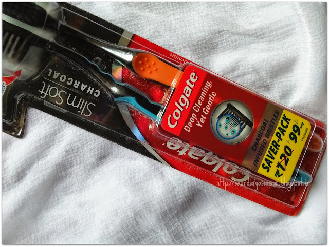 Colgate Slimsoft Charcoal Toothbrush Review